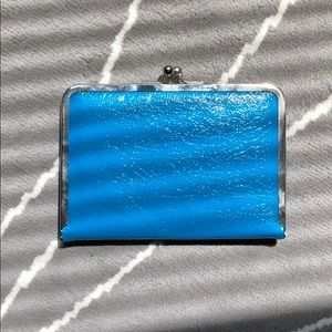 Teal wallet